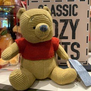 Disney Parks Cozy Knit Winnie the Pooh